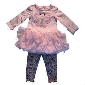 Ruffle toddler outfit